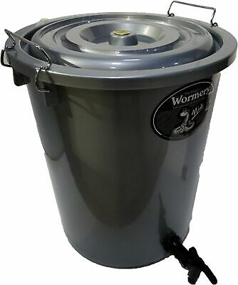 THE MIDI WORMERY Composter Waste Compost Bin Kitchen Cupboard Scraps Garden NEW