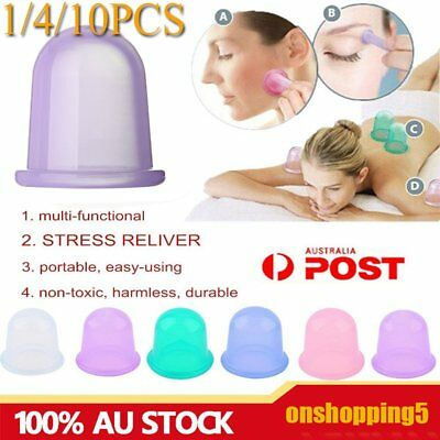 Health Care Body Massager Anti Cellulite Vacuum Silicone Cupping Cup Reliver OU