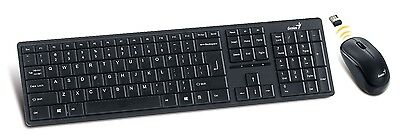 Genius SlimStar 8000ME wireless keyboard-mouse set | QWERTY layout