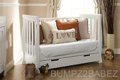 OBaby Lincoln sleigh Mini Cot Bed