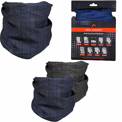 More Mile Andes Unisex Multiway Neck Warmer Running Cycling Outdoors MM2019-20