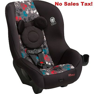 Convertible Car Seat Mickey Reel Children Side Impact Protection Compact Travel