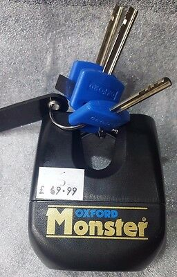 *Sale* Of31 3 Key Oxford Monster Gold Series Heavy Duty Chain Padlock Lock Only