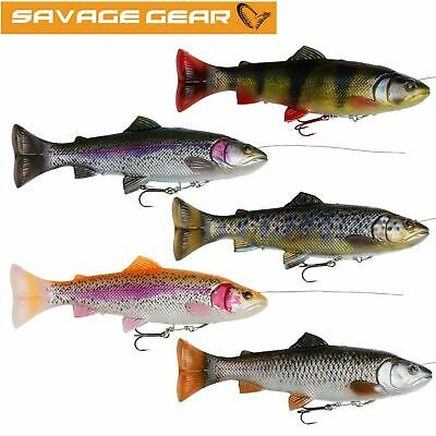 Savage Gear 4D Line Thru Trout Lure NEW Predator Fishing  *Complete Range*