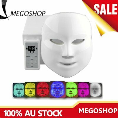 PDT 7 LED Photon LED Photo Rejuvenation Light Therapy Facial Mask Skin Care PN