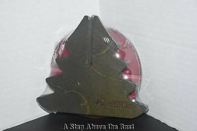 Longaberger '13 Red Holiday Helper Christmas Tree Lid #51903 NEW