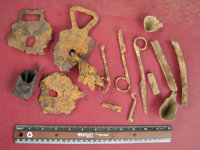 Metal Detector Finds - LOT OF IRON ARTIFACTS       6650