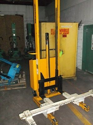 Used Multiton SM20 Walk Behind Electric Lift
