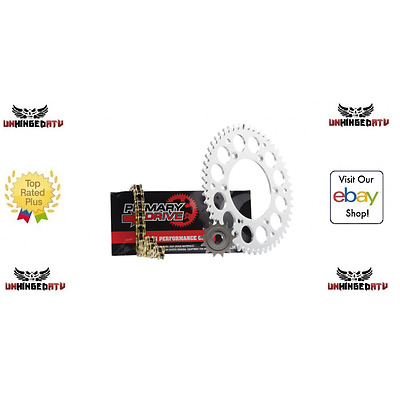 Primary Drive Steel Kit & Gold X-Ring Chain – Fits: Honda CR250R 1992–1996