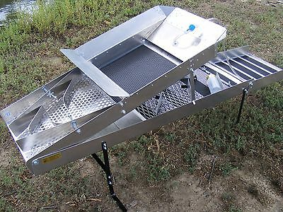 Gold Buzzard High Banker 14 Inch-Sluice- With Tom Tom / Washer Hose *** Nice***