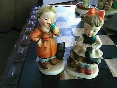 Vintage Royal Crown Child's Life Figurine,Bedtime Plue Royal Crown  Hand-painted