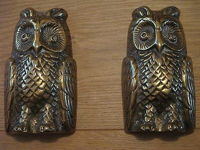 Owl Brass Ornaments Paperweights Collectables Ideal Birthday Christmas Present