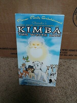 The New Adventures Of Kimba The White Lion VHS Rare Anime