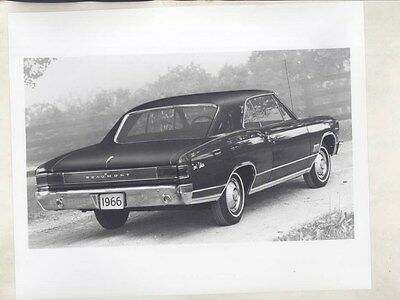 1964 Beaumont Canada Sport Deluxe ORIGINAL Factory Photograph wy2048