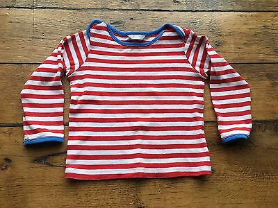 Baby Boden Striped Top. Age 18-24 Months