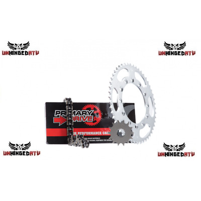 Primary Drive Steel Kit & X-Ring Chain – Fits: Yamaha YFZ450R 2009–2017