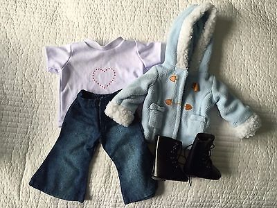 """EXCELLENT USED CONDITION 18"""" Doll Casual Outfit- FITS AMERICAN GIRL DOLLS!!"""