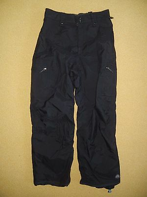 NIKE ACG Black Waterproof SNOW PANTS Ski Board Winter Bottoms Size Women's LARGE