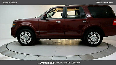 2013 Ford Expedition 2WD 4dr Limited 2WD 4dr Limited SUV 5.4L 8 Cyl Autumn Red Metallic