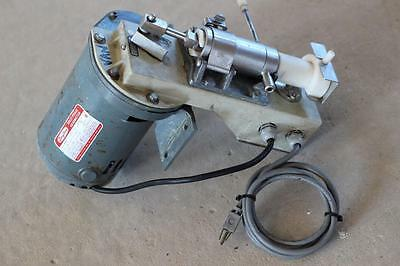 Duke Electrofreeze Model DPR Remote Ice Cream Pump with Dayton 1/4 hp Gearmotor