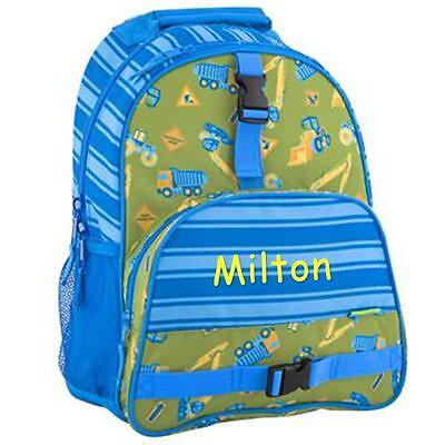 Personalized Stephen Joseph All Over Print Backpack Construction Custom Name
