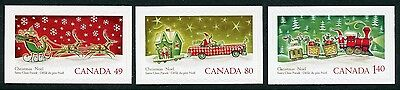 Weeda Canada 2069i-2071i VF NH Die cut Christmas singles from Annual Collection