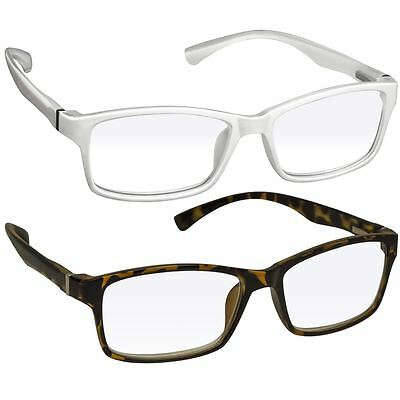 NEW Computer Reading Glasses   Gaming   2 Pack   Anti Blue Light & UV Protection