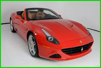 2016 Ferrari California T 2016 FERRARI CALIFORNIA T, FERRARI APPROVED CPO, BEAUTIFUL SPEC, 3,295 MILES!
