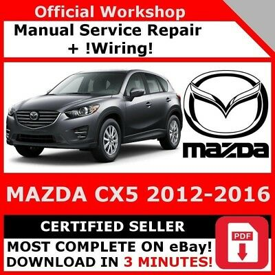 # Factory Workshop Service Repair Manual Mazda Cx5 2012-2016 Wiring