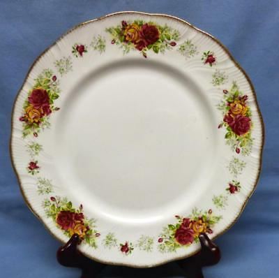 "QUEEN'S STRATFORD SALAD PLATE by ROSINA CHINA co.Ltd. Fine Bone China Sz-8""RARE"
