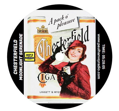 Chesterfield Moonlight Serenade (17 Shows) Old Time Radio Mp3 Cd