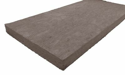 """1-1/2"""" x 48"""" x 24"""" Mineral Wool High Temperature Insulation, Density 8#, Green"""