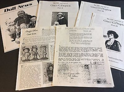 Lot of 1980's Vintage Articles about GRACE DRAYTON, DOLLY DINGLE & CAMPBELL KIDS
