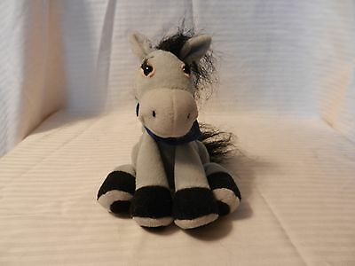 Breyer Gray Reindrop Plush Pony with Scarf and Black Hooves