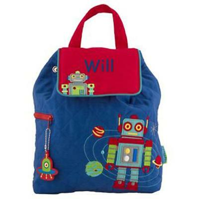 Toddler Backpack Personalized Stephen Joseph Robot Custom Name