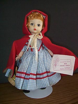 Madame Alexander Little Red Riding Hood from International Series 8 inch Doll