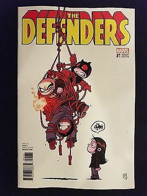 Marvel Defenders, Vol. 5 # 1 (1st Print) Young Variant