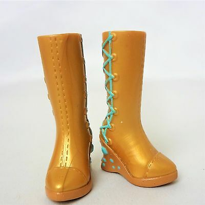 My Scene Barbie Doll Gold Boots