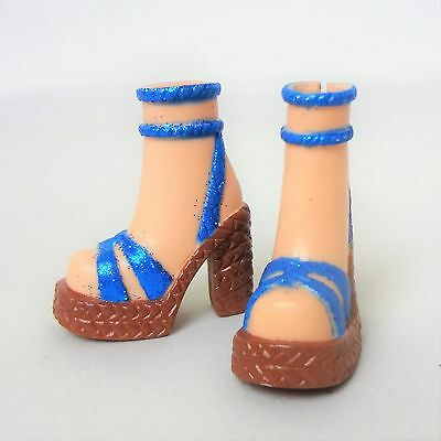 My Scene Barbie Doll Blue Ankle wrap Shoes