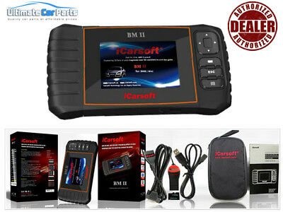 iCarsoft BM II OBD2 II For BMW MINI Diagnostic Scanner Tool SRS ABS ENGINE UK
