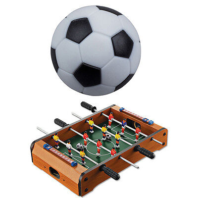 2 PCS 32mm Foosball Balls Fussball Ball Replacement for Soccer Table Game