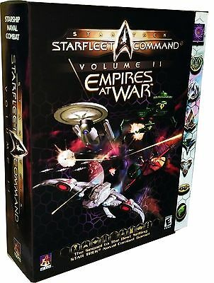 Star Trek: Starfleet Command Vol. 2 -- Empires at War (PC, 2000) New! MISB!!