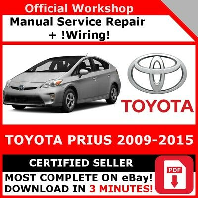 # Factory Workshop Service Repair Manual Toyota Prius 2009-2015 +Wiring