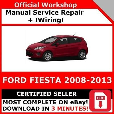 # Factory Workshop Service Repair Manual Ford Fiesta 2008-2017 Mk Vi 6 Wiring