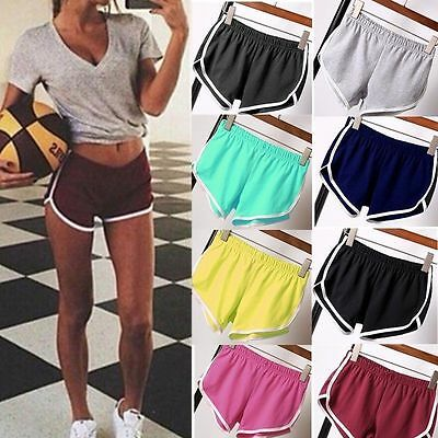 Women Cotton Sports Casual Beach Running Slim Yoga Ladies Shorts Hot Pants