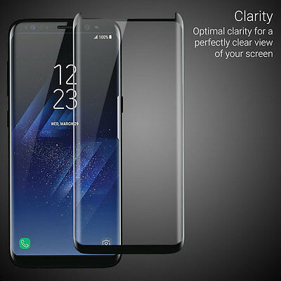 low priced 67a5c 68401 OLIXAR GALAXY S8 Plus EasyFit Case Compatible Glass Screen Protector ...
