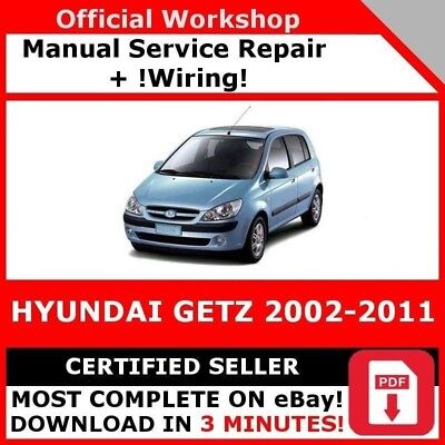 # Factory Workshop Service Repair Manual Hyundai Getz 2002-2011 +Wiring!