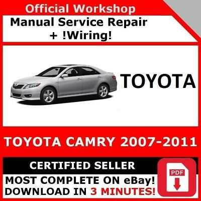 free download of 2007 toyota camry owners manual toyota camry avalon lexus es 350 2007 2011. Black Bedroom Furniture Sets. Home Design Ideas