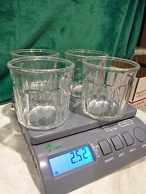 4 Luminarc 500 Glass WATER GLASSES  Made in France