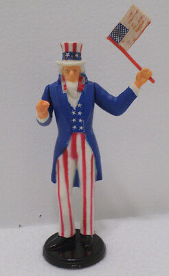 Uncle Sam Figure Durham Industries Rubber Peel and Stick made in Hong Kong